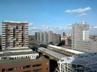 Panorama zicht op SVB-Achmea gebouw-B