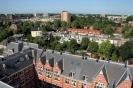 Panorama vanuit kraan Hugo de Grootstraat