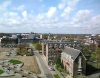 Panorama met o.a. Poortgebouw