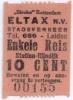 Eltax buskaartje - 5